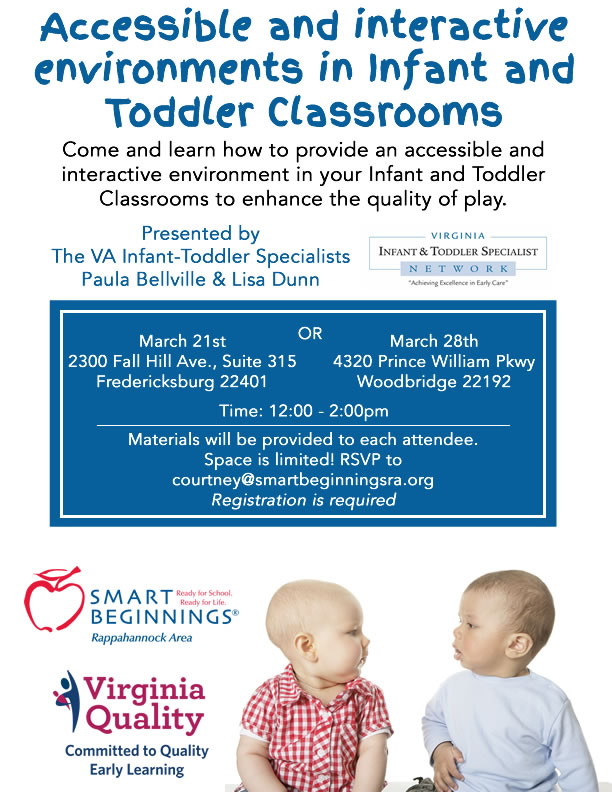 Accessible and Interactive Infant and Toddler Classrooms