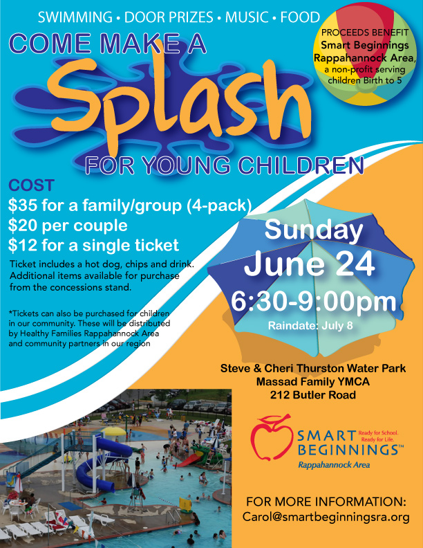 Make a SPLASH for young children!